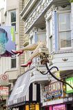 Haight Ashbury, San Francisco Arkivfoto