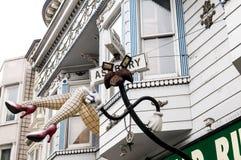 Haight ashbury San Francisco Stock Foto's