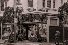 Haight-Ashbury Street Sign 2 royalty free stock images