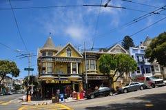 Haight Hasbury en San Francisco Imagenes de archivo