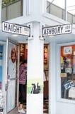 Haight San Francisco ashbury fotografía de archivo libre de regalías