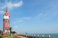 Haikou  Bay views. Taken in Haikou, Hainan, China Royalty Free Stock Images