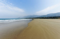 Haikou  beach coast line Royalty Free Stock Images
