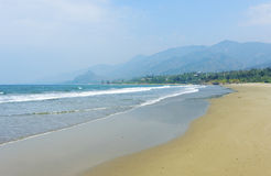 Haikou  beach coast line Stock Image