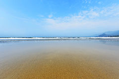 Haikou  beach coast line Royalty Free Stock Photo