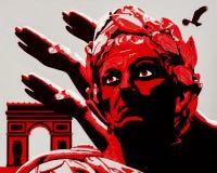 Hail Caesar royalty free stock image