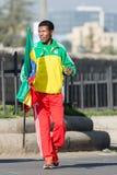 Haile Gebrselassie och Priscah Jeptoo Royaltyfria Foton