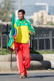 Haile Gebrselassie and Priscah Jeptoo Royalty Free Stock Photos