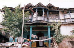 Haile selassie house Royalty Free Stock Images