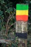 Haile Selassie liep deze weg Royalty-vrije Stock Foto