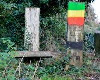 Haile Selassie liep deze weg Royalty-vrije Stock Foto's