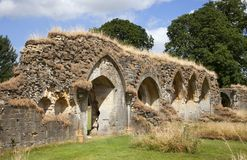 Hailes Abbey Stock Photography