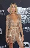 Hailey Baldwin. At the 2018 iHeartRadio Music Awards held at the Forum in Inglewood, USA on March 11, 2018 royalty free stock image