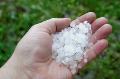 hailstones стоковая фотография
