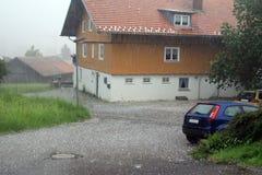 Hailstones Royalty Free Stock Image
