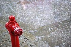 Hailstorm image libre de droits