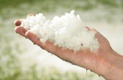 Hailstorm Stockbilder