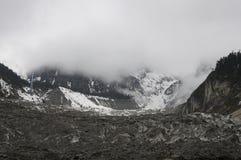 Hailuogou glacier Stock Photography