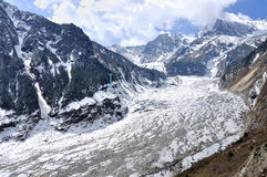 Hailuogou-Gletscher Lizenzfreie Stockbilder