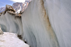 Hailuogou-Gletscher Lizenzfreie Stockfotos