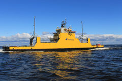 Hailuoto ferry. From Oulunsalo, Oulu to Hailuoto. Finland Stock Photography