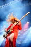 Haim (band), performance at Heineken Primavera Sound 2014 Festival (PS14) Stock Images