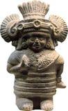 Haina海岛玛雅小雕象  免版税库存图片