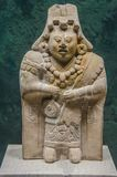 Haina海岛的古老玛雅小雕象 库存图片