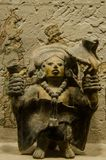 Haina海岛的古老玛雅小雕象 免版税库存照片