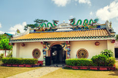 Hainan Chinese Temple Royalty Free Stock Photos