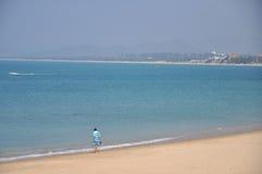 Hainan heavenly beach Stock Photos