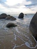 Hainan island. China. Park of stone Stock Photos