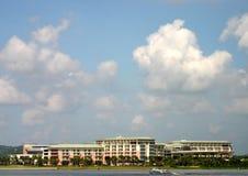 Hainan Island coastline stock image