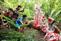Hainan island natives li lives Royalty Free Stock Image