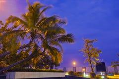 Hainan sanya airport smoking area scenery Royalty Free Stock Photos