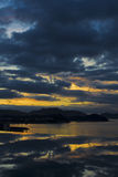 Hainan sanya sunrise Stock Photos
