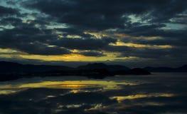 Hainan sanya sunrise Royalty Free Stock Images