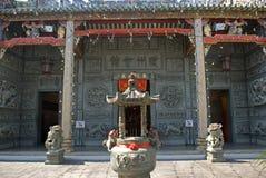 Hainan tempel, Georgetown, Penang, Malaysia royaltyfria foton