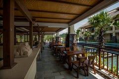 Hainan Tunchang day Lake Peninsula club in the bar Royalty Free Stock Images