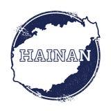 Hainan vector map. Royalty Free Stock Photography
