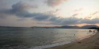 Hainan Yalong Bay scenery Stock Image