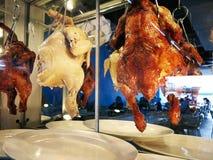hainanese ρύζι κοτόπουλου Τρόφιμα οδών στοκ φωτογραφία