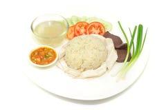 hainanese ρύζι κοτόπουλου Στοκ φωτογραφίες με δικαίωμα ελεύθερης χρήσης