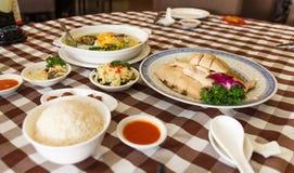 Hainanese鸡 库存图片