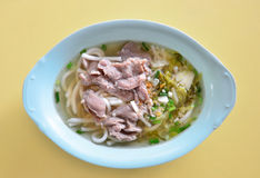 Hainanese beef noodles Stock Images