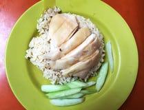 Hainanese Chicken Rice Stock Photography