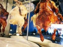 Hainanese chicken rice. Street Food. royalty free stock photos