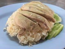 Hainanese chicken rice Royalty Free Stock Photos