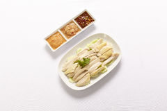 Hainanese Chicken Rice Stock Photography