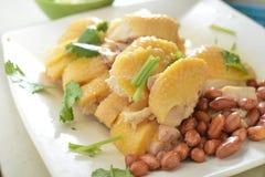 Hainanese steam Chicken Stock Photos